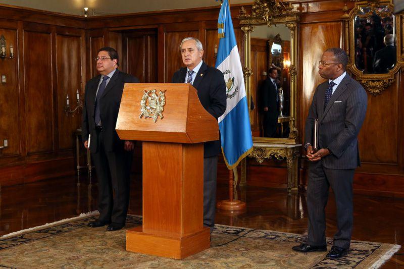 Conferencia de Perez Molina