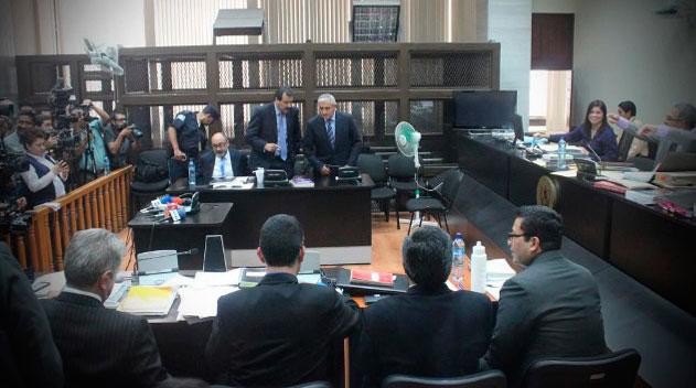 Comienza etapa procesal que decidirá si expresidente Otto Pérez Molina va a juicio