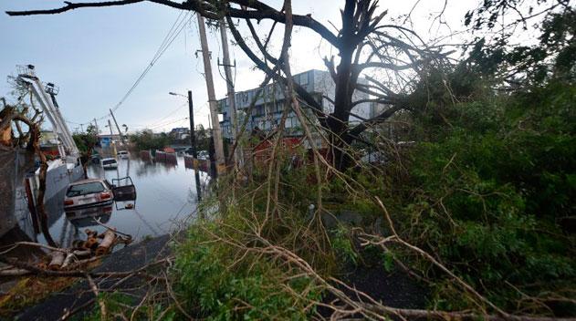Hurac n mar a deja a puerto rico como zona de desastre y - Puerto rico huracan maria ...