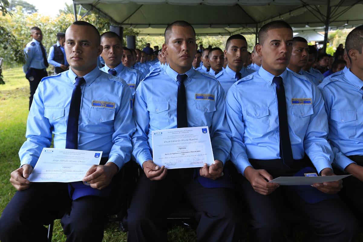 Graduación de agentes penitenciarios