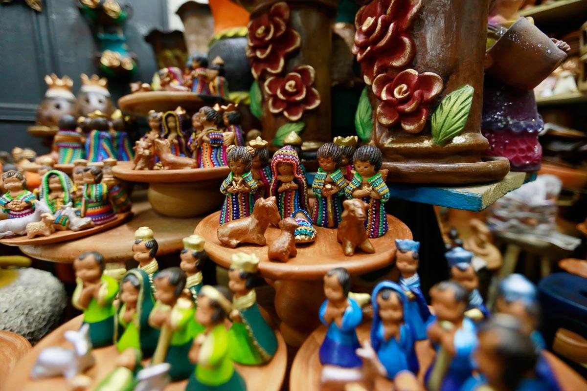 Los guatemaltecos reciben la navidad