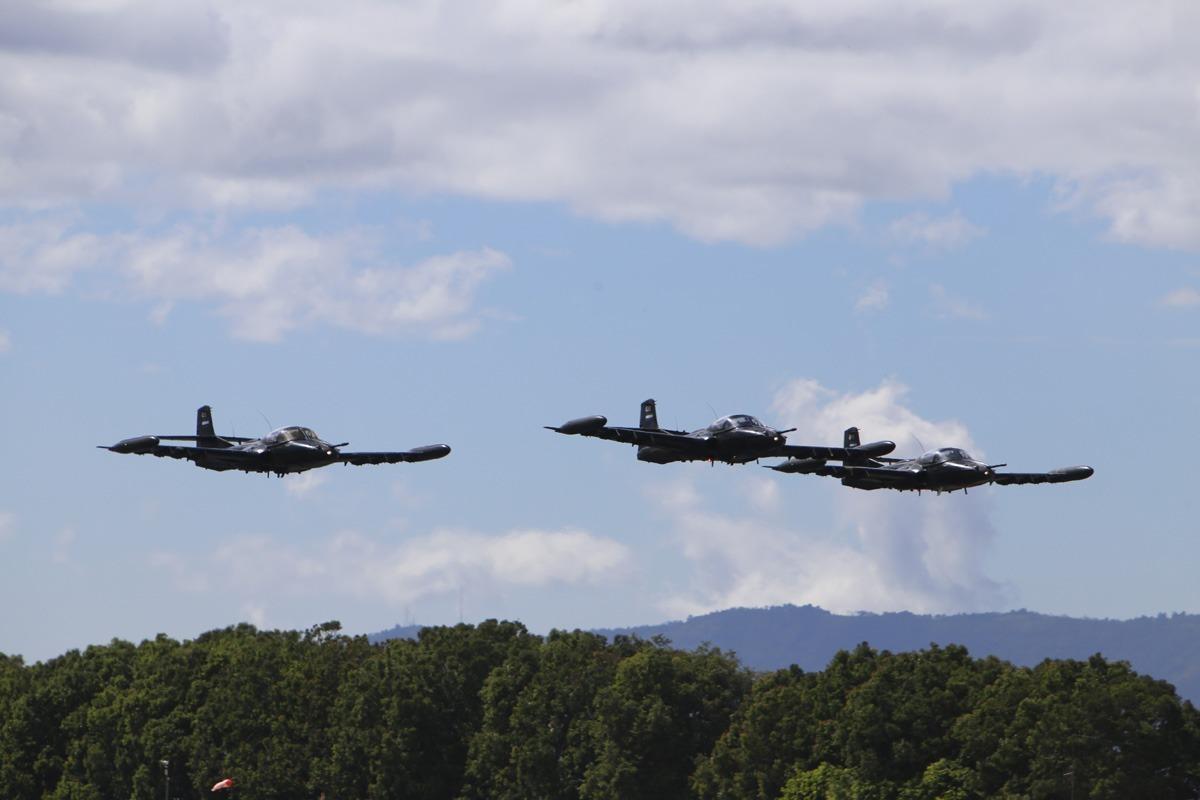 96 Aniversario de la Fuerza Aérea Guatemalteca
