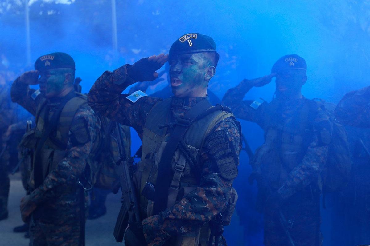 XLIII Aniversario de la Brigada de Fuerzas Especiales y Día del Kaibil