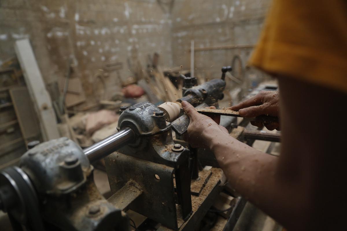 Juguetes artesanales en madera
