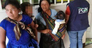 PGN rescata a menores