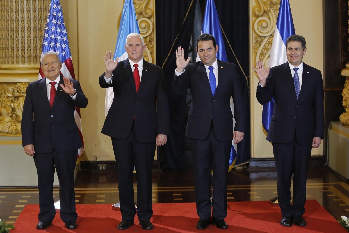 Mike Pence visita Guatemala