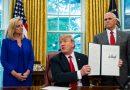 Trump retrocede en el tema de niños migrantes