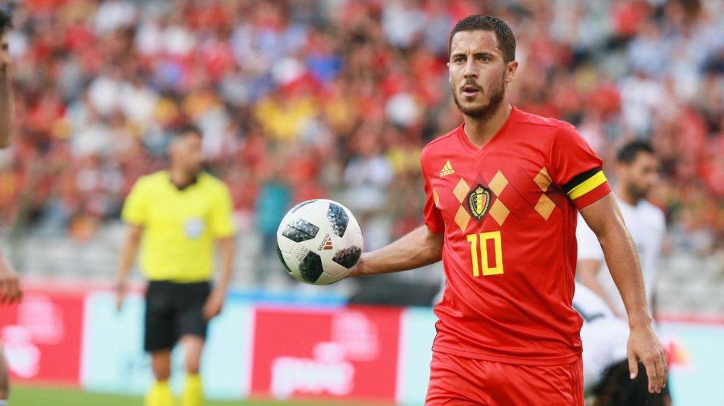 Eden Hazard 10 (Bélgica) vGuió a Bélgica hasta el bronce en Rusia 2018. –Se alzó con el Balón de Plata Adidas en la Copa Mundial de la FIFA. –Ganó la FA Cup con el Chelsea FC.