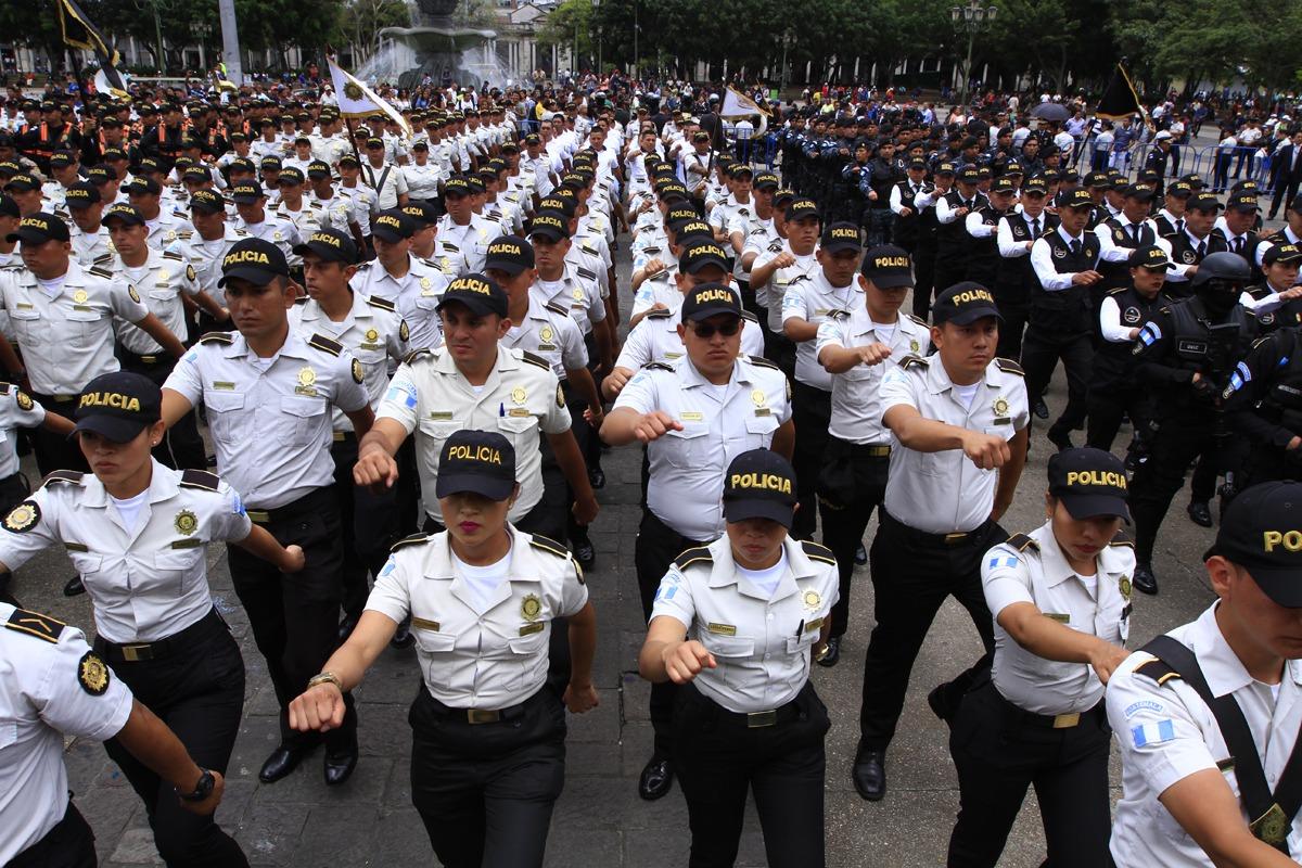 PNC se fortalece para el combate delincuencial