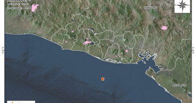 Un sismo de 4.7 sacude El Salvador la madrugada del domingo