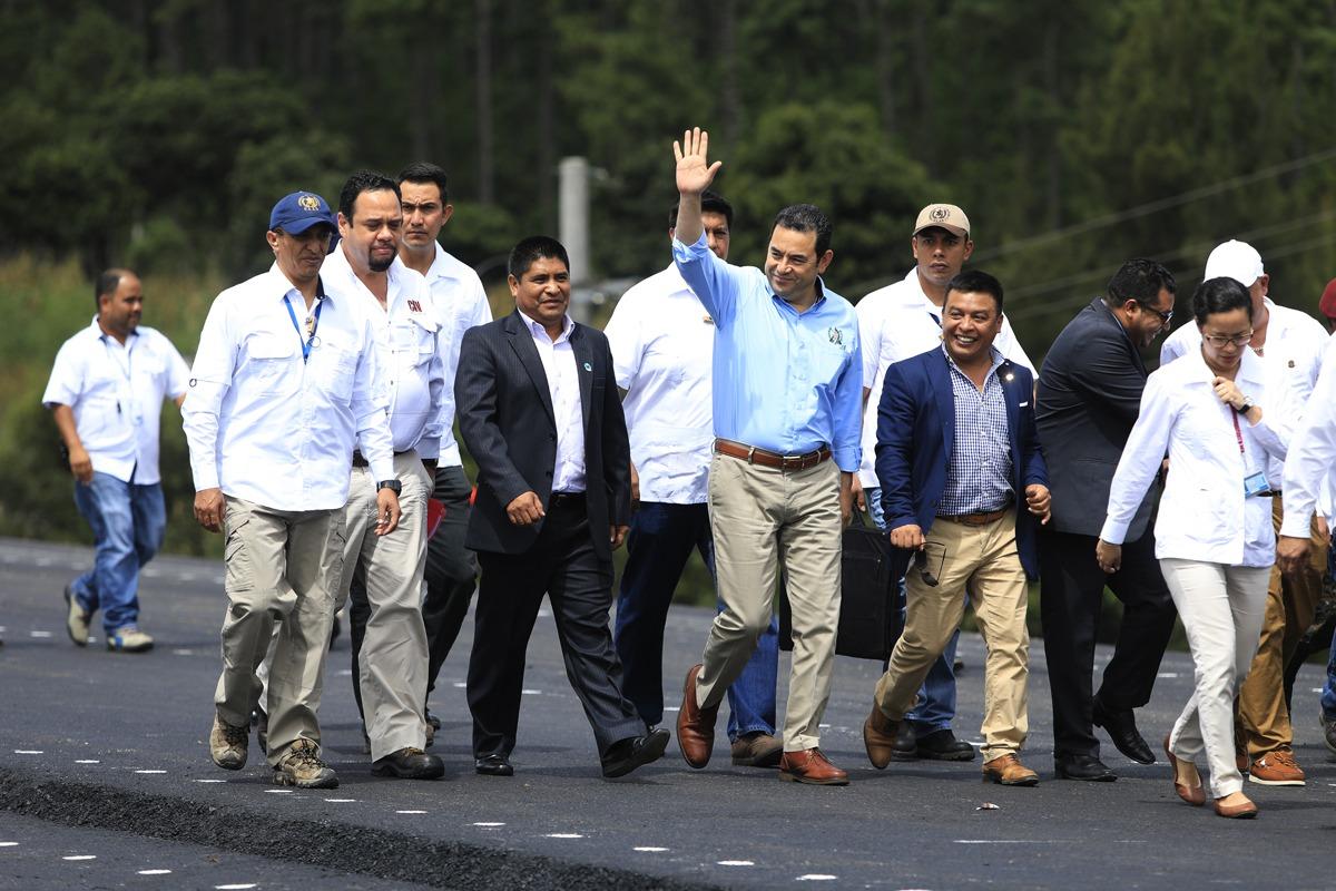 Inauguran tramo de Libramiento de Chimaltenango