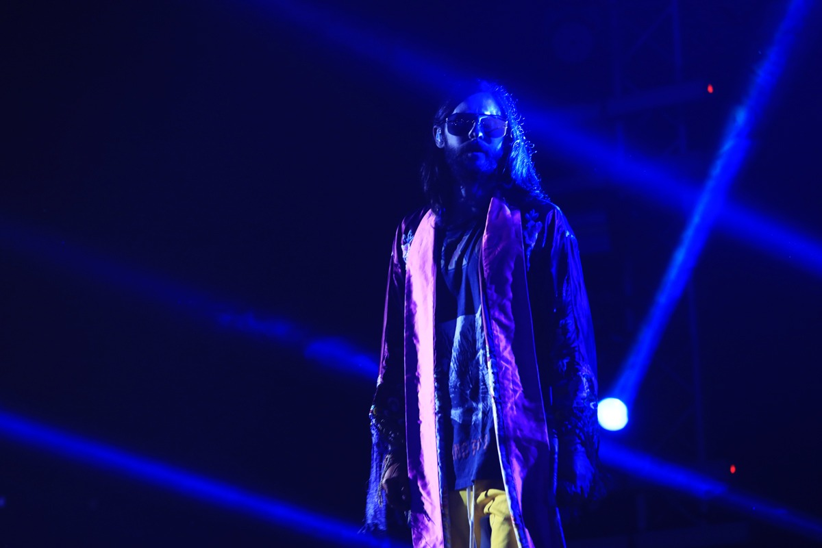 Jared Leto y 30 Seconds to Mars se presentan en Guatemala
