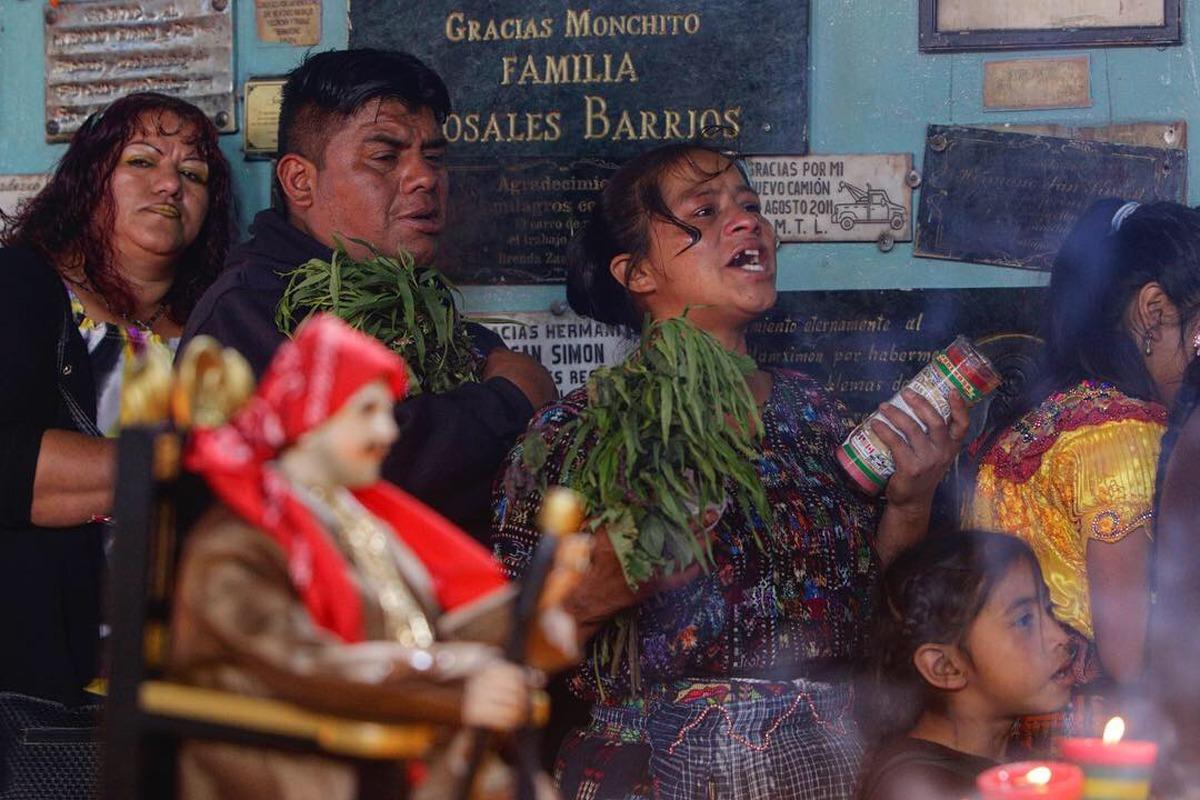 San Andrés Iztapa celebra a San Simón