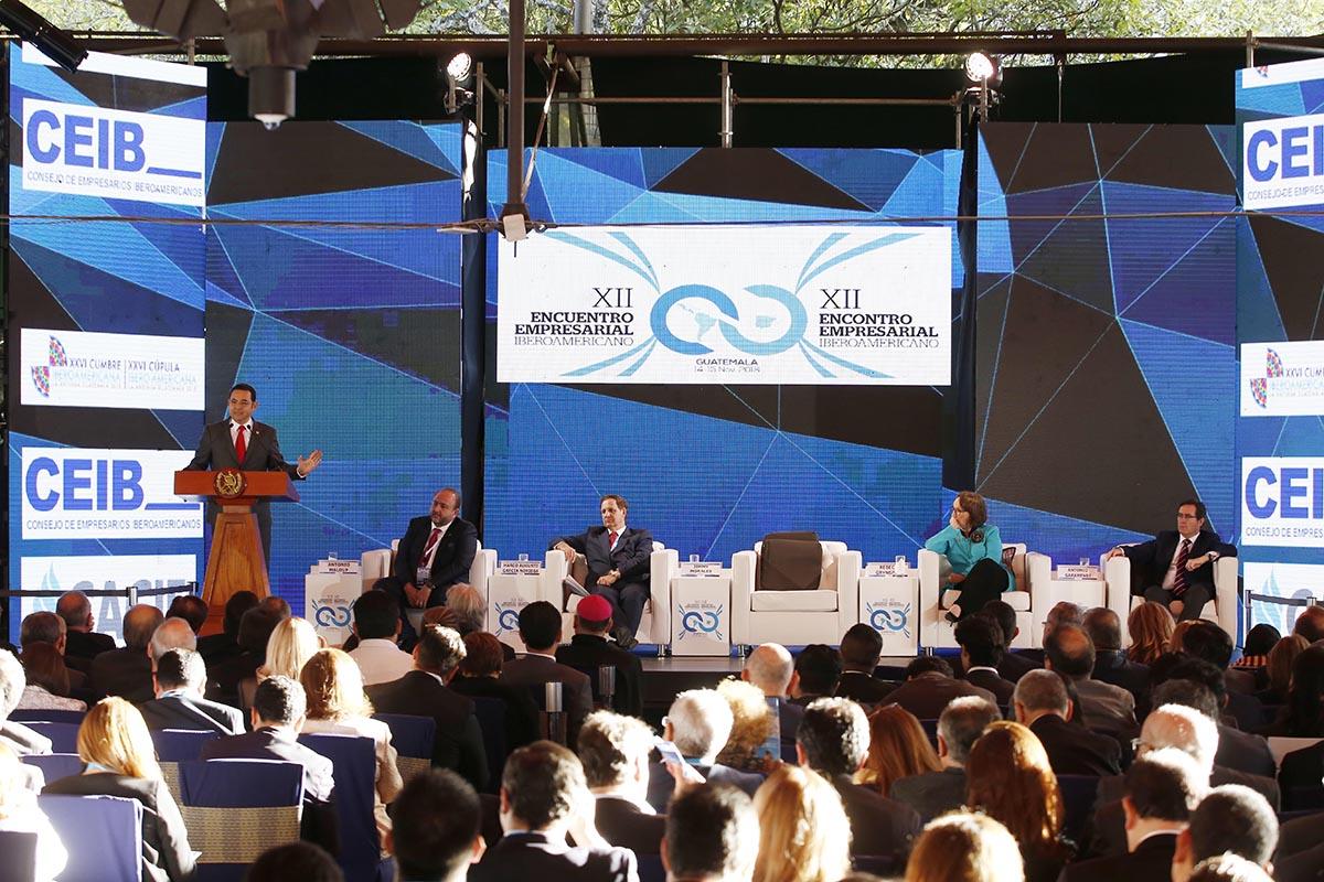 Inicia la Cumbre Iberoamericana en Antigua Guatemala