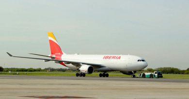 Iberia aumenta oferta aérea en un 80 por ciento
