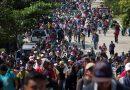 Un nuevo grupo de al menos 150 salvadoreños parte hacia EE.UU. en caravana