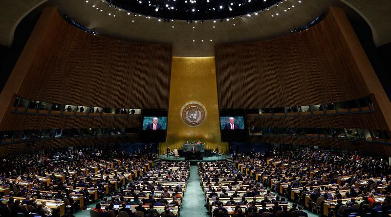 Inició 74° período de sesiones de la Asamblea General de la ONU